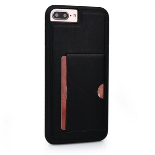 Slim TPU and Synthetic Leather Card Case for Apple iPhone 6, 6S, 7 Plus (5.5 Inch)
