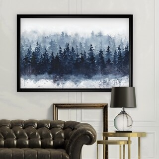 Indigo Forest - Black Frame