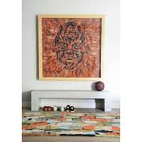 "Novogratz by Momeni Bungalow Tiles Polyester Multi Area Rug - 5' x 7'6"""