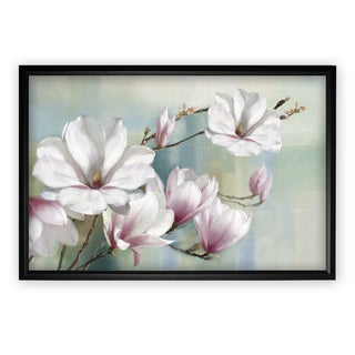 Magnolia Blooms - Black Frame