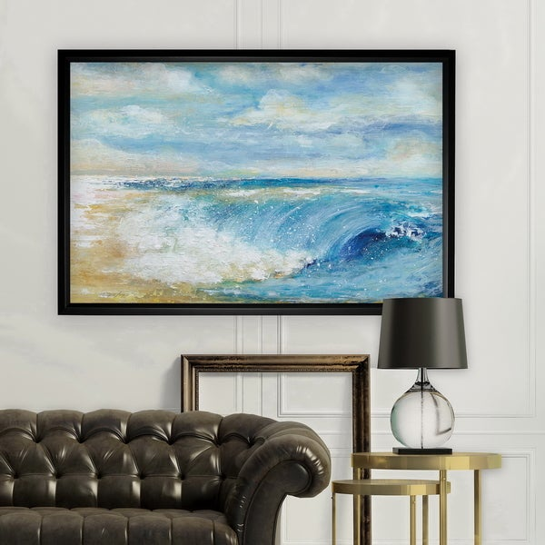 The Perfect Wave - Black Frame