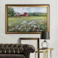 Summer at the Farm - Gold Frame