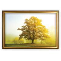 The Sentinel King - Gold Frame