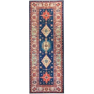 """RUGGABLE Washable Indoor/ Outdoor Stain Resistant Runner Rug Noor Sapphire (2.5' x 7') - 2'6"""" x 7'