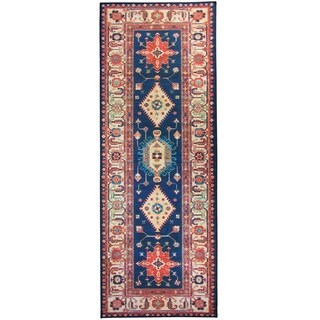 "RUGGABLE Washable Indoor/ Outdoor Stain Resistant Runner Rug Noor Sapphire - 2'6"" x 7'"