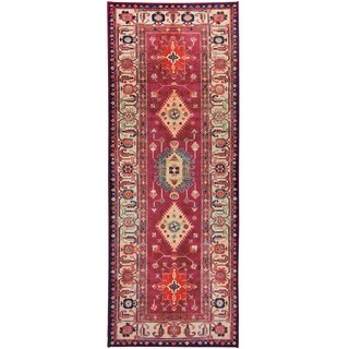 "RUGGABLE Washable Indoor/Outdoor Stain Resistant Runner Rug Noor Ruby (2.5' x 7') - 2'6"" x 7'"
