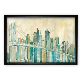 New York City Sketch - Black Frame