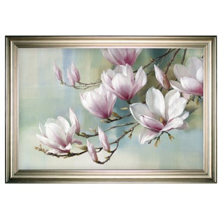 Magnolia Morning -Silver Frame