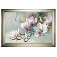 Magnolia Morning -Silver Frame