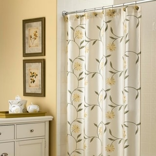 "Croscill Penelope 72""x75"" Floral Shower Curtain"