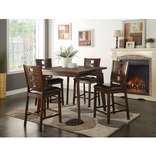 Mireya 5 Piece Counter Height Dining Set