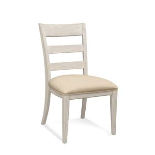 Bassett Mirror Company Camryn Off-white Wood Side Chair