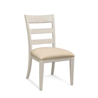 Bassett Mirror Company Camryn Off-white Wood Side Chair
