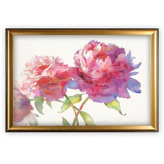 Prize Peonies II - Gold Frame