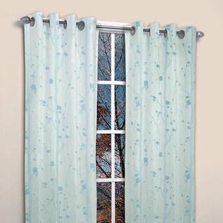 Famous Home Shadows Window Curtain Panel