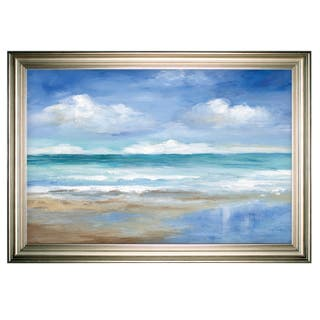 Washy Coast II -Silver Frame