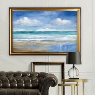 Washy Coast II - Gold Frame