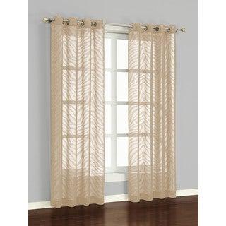 Famous Home Zambia Window Curtain Panel