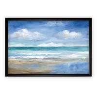 Washy Coast II - Black Frame