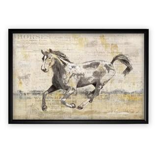 Golden Stallion II - Black Frame