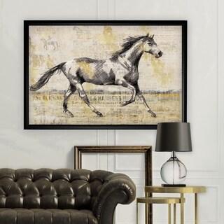 Golden Stallion I - Black Frame