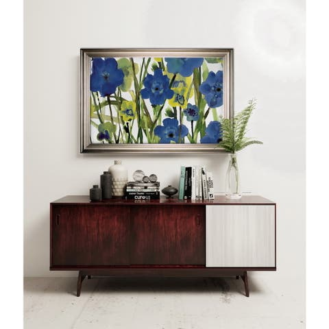 Picking Flowers -Silver Frame