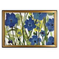 Picking Flowers - Gold Frame