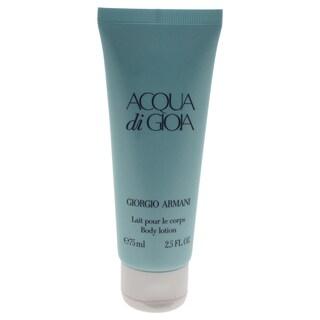 Giorgio Armani 2.5-ounce Acqua di Gioia Body Lotion