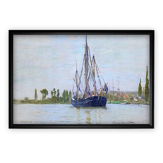 The Sailing Boat - Black Frame