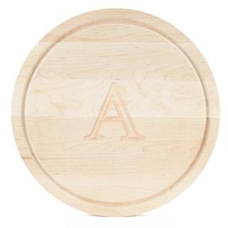 BigWood Boards Large Round Maple Cutting Board