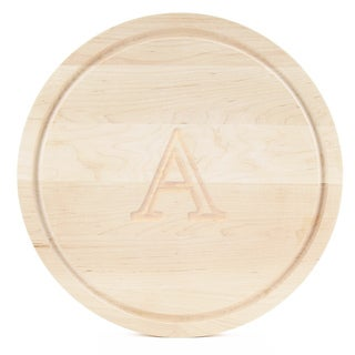 BigWood Boards Large Round Maple Cutting Board