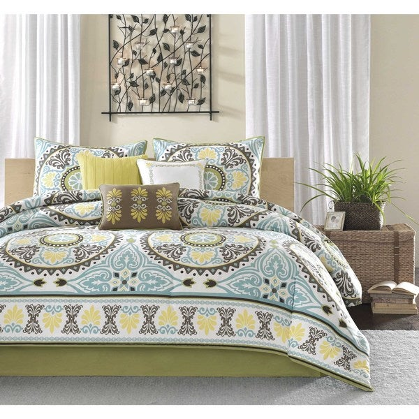 Shop Madison Park Bali 7-piece Cal-King Size Comforter Set