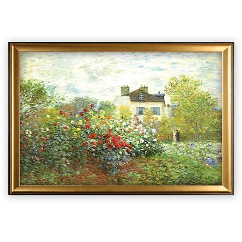 The Artist Garden - Gold Frame