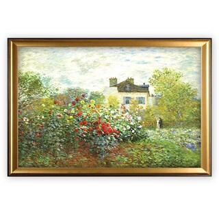 The Artist Garden - Gold Frame