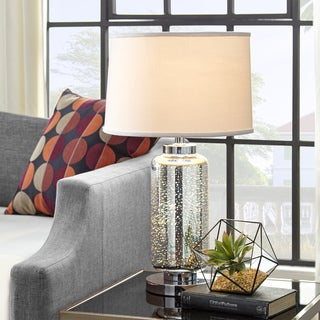 Galaxy LED Starburst Chrome Table Lamp by iNSPIRE Q Bold