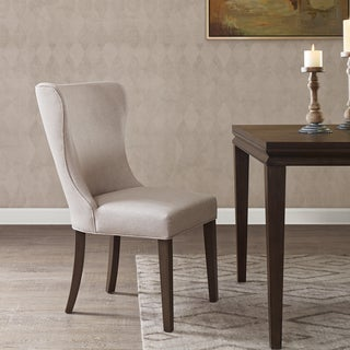 Madison Park Signature Helena Cream/ Reclaimed Grey Dining Side Chair