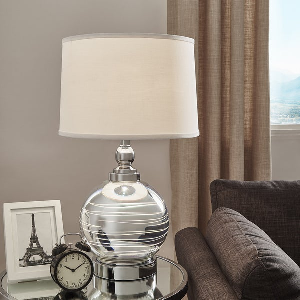Galaxy LED Starburst Chrome Orb Table Lamp by iNSPIRE Q Bold