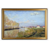 Argenteuil, The Seine - Gold Frame