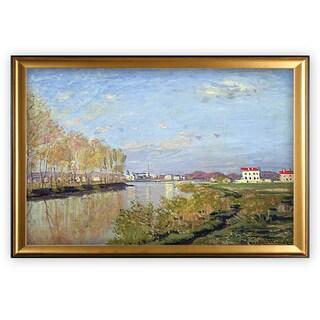 Argenteuil, The Seine - Gold Frame