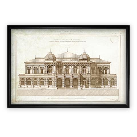 Architecture Sketch I - Black Frame