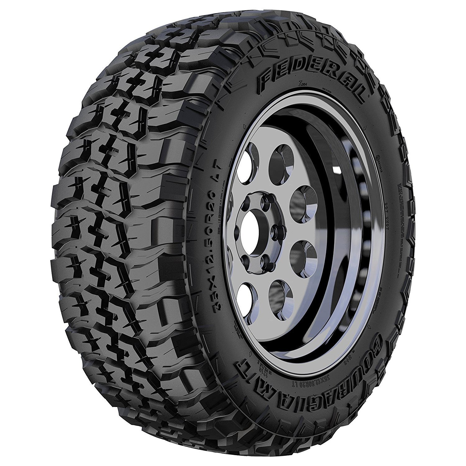 Federal  Premium Couragia M/T Off Road Tire - 35X12.50R20...