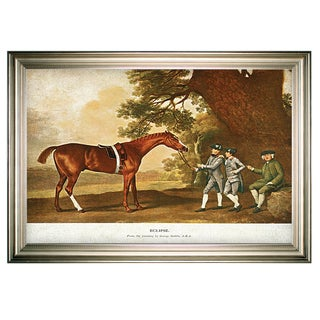 Link to Equine Drawing I -Silver Frame Similar Items in Canvas Art