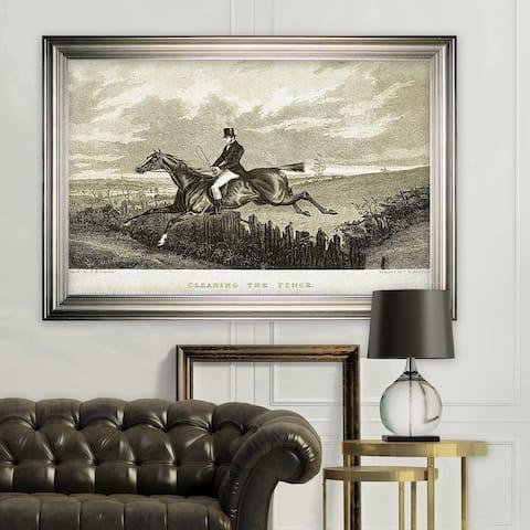 Equine Sketch XXXI -Silver Frame
