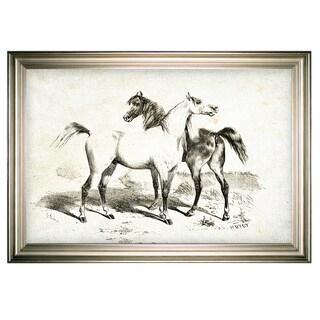Equine Sketch XXVIV -Silver Frame