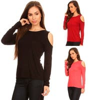 Sexy Cold Shoulder Top for Everyday Casual Style
