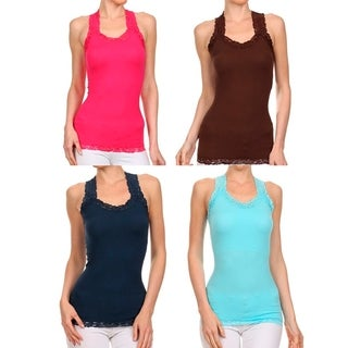 A Set of 2 Racer Back Tank Top