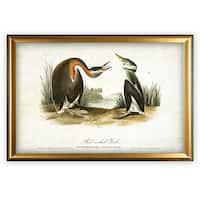 Aviary Sketch XXV - Gold Frame
