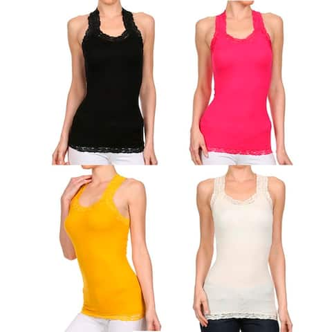 A Set of 2 Racer Back Tank Top For Active Lifestyle