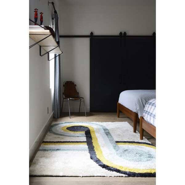 "Novogratz by Momeni Retro Loop Rug (7'6"" x 9'6"") - 7'6"" x 9'6"""