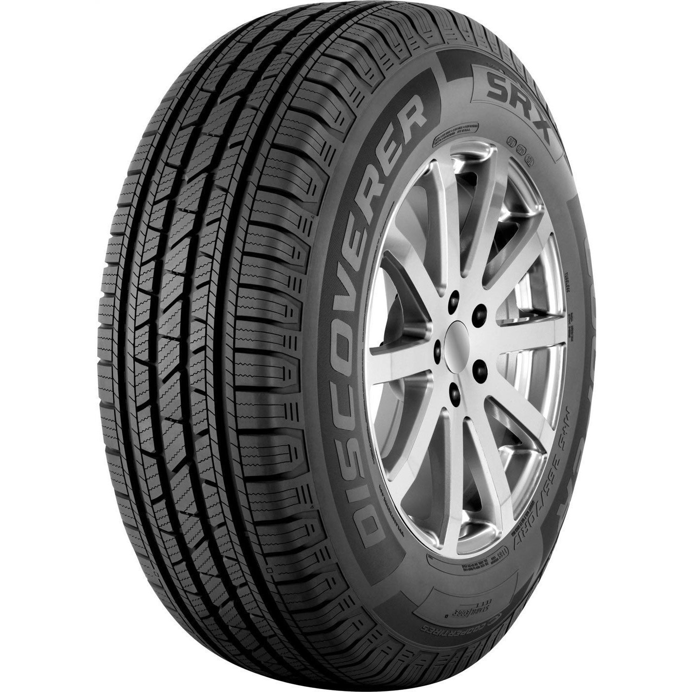COOPER Discoverer SRX All Season Tire - 225/75R16 104T (B...